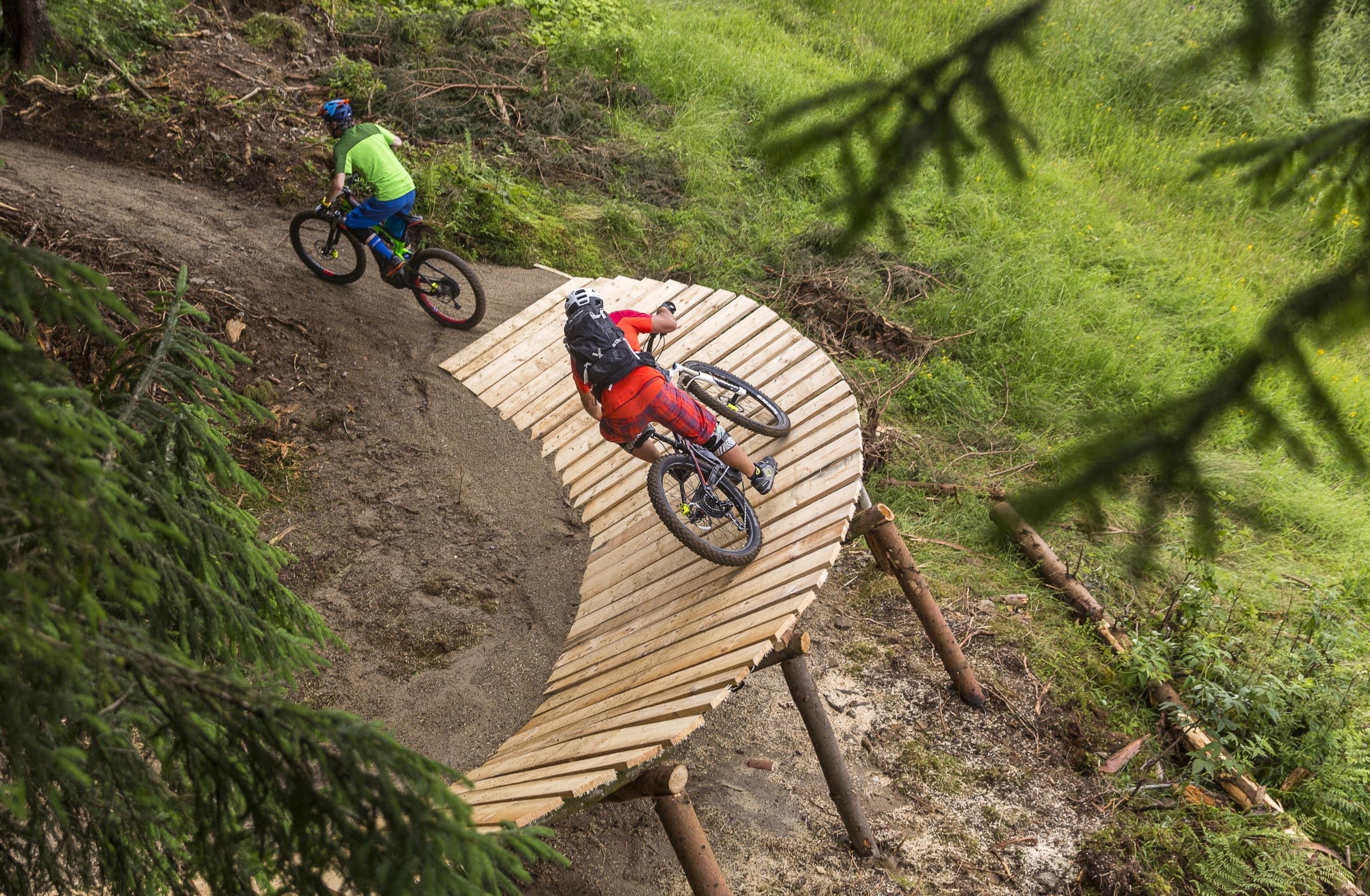 a world first the bosch ebike uphill flow trail bosch media service
