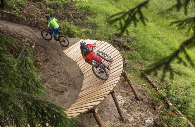 A World First: the Bosch eBike Uphill Flow Trail