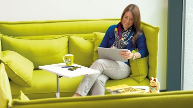 Company social services go online