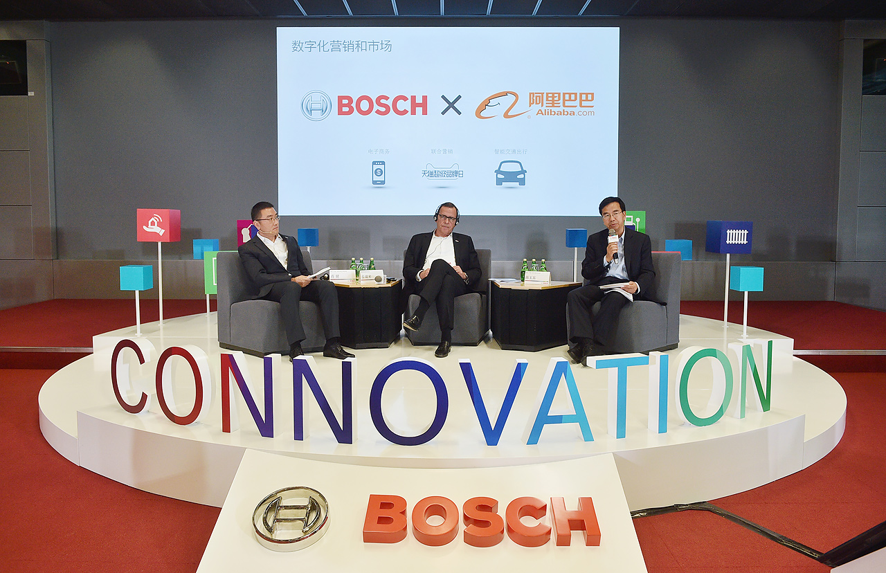 Bosch China annual press conference with focus on innovations for connected life