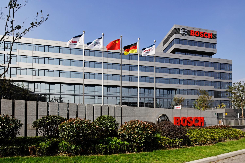 Die neue Boschzentrale in Shanghai