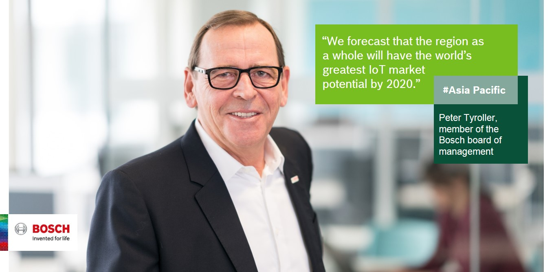 Peter Tyroller, member of the Bosch board of management