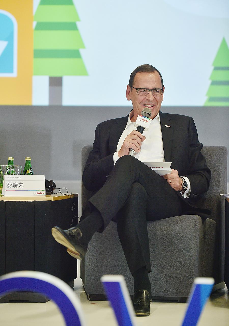 Peter Tyroller, Mitglied der Geschäftsführung, Robert Bosch GmbH
