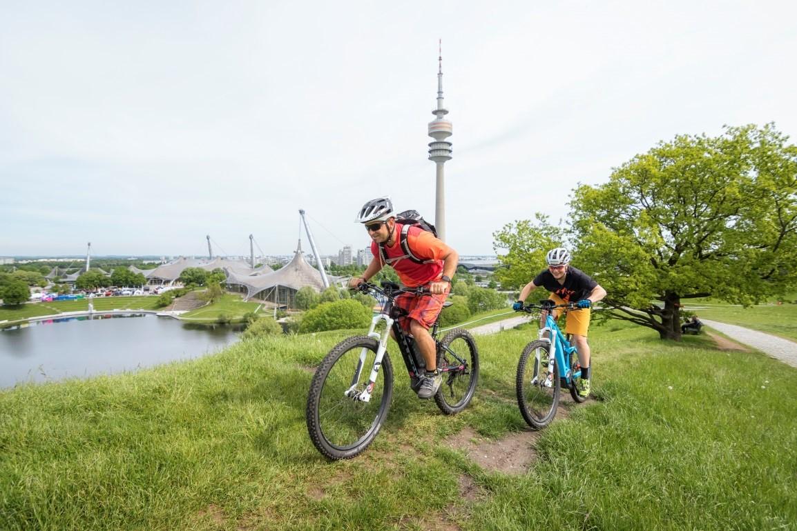 Auf den E BIKE DAYS in München können Besucher auf zwei Testrecken von Bosch eBike Systems das Fahren mit elektrischem Rückenwind erleben.
