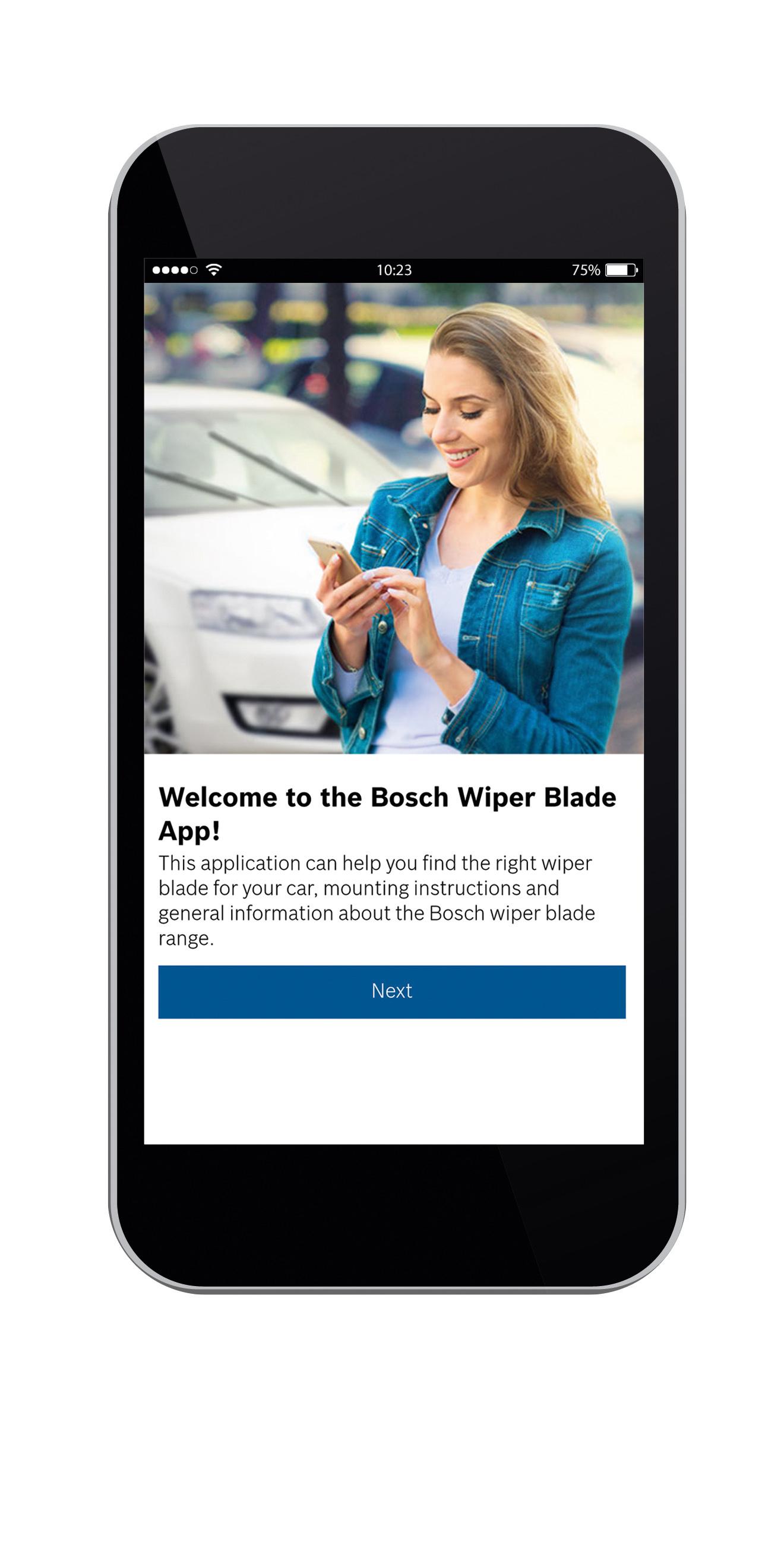 Bosch wiper app