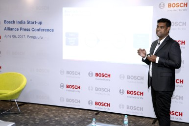 Manohar Esarapu, the head of Bosch India's D.N.A. corporate venture program