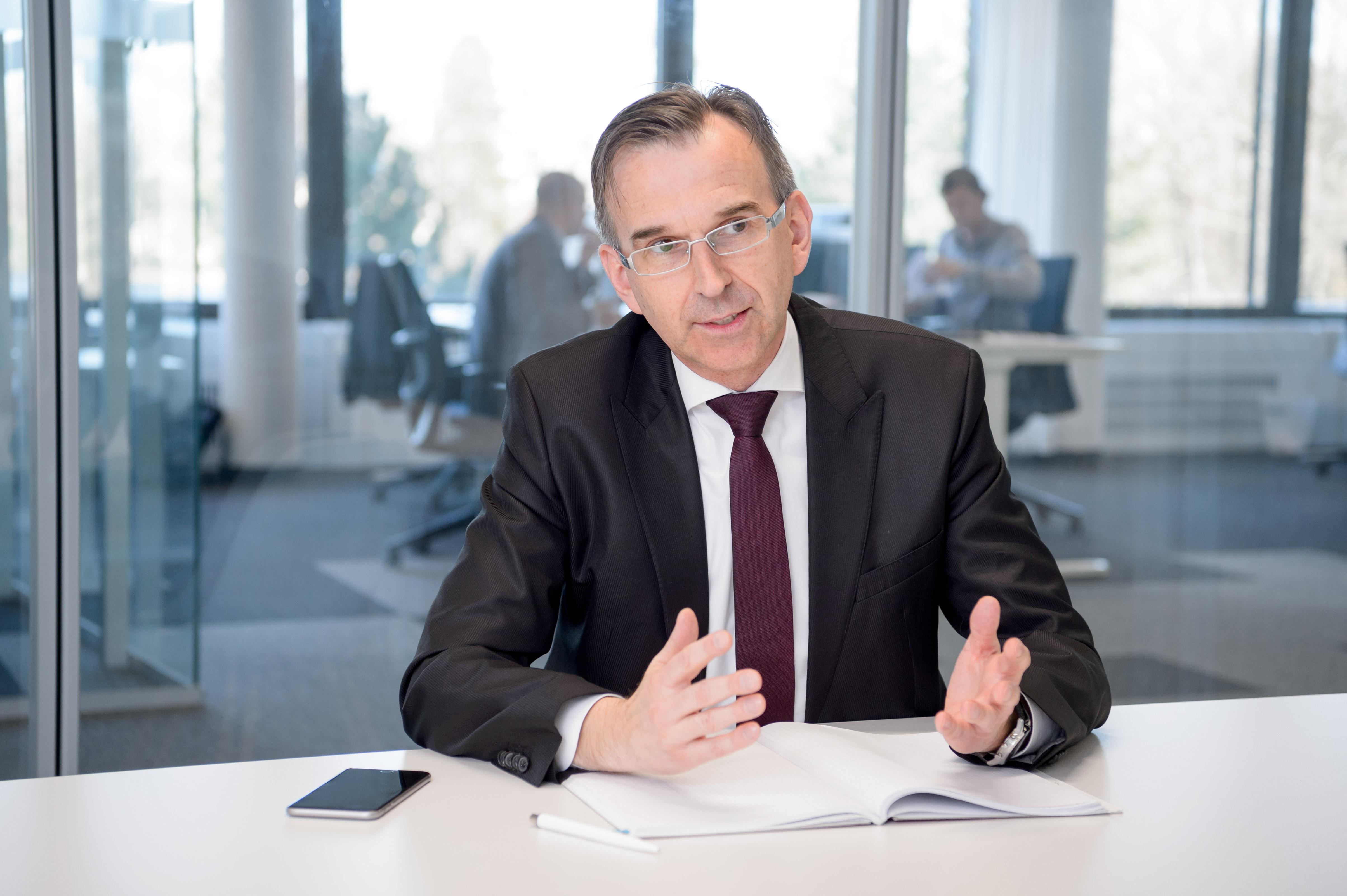 Dirk Jargstorff, Leiter Betriebliche Versorgungsleistungen, Robert Bosch GmbH