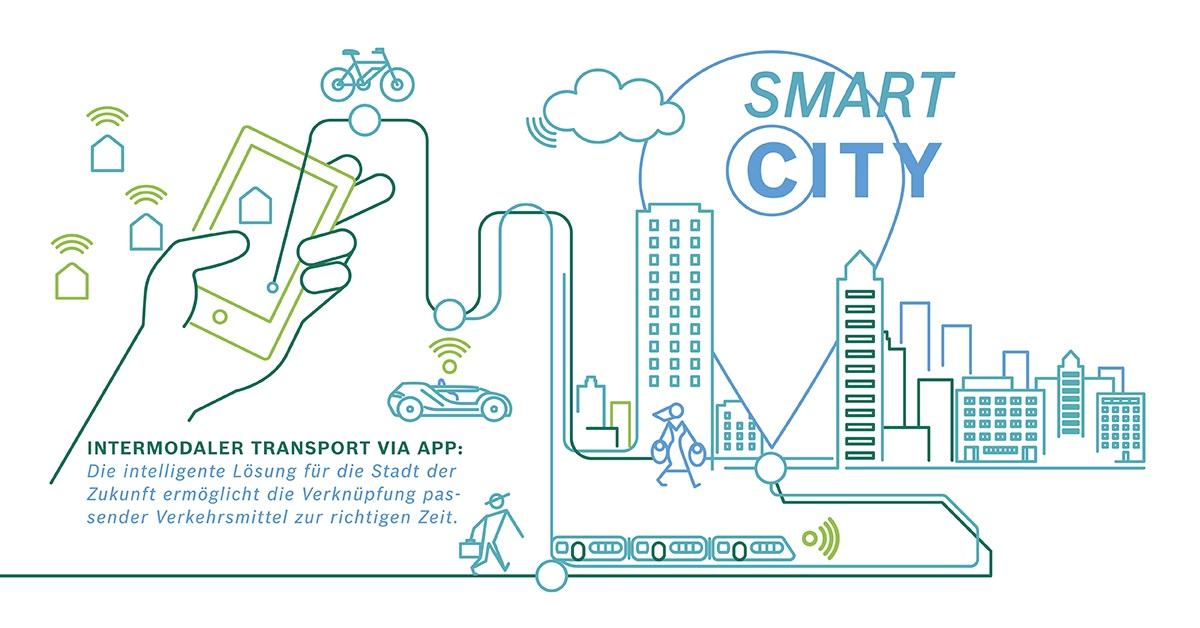 Intermodaler Transport in Smart Cities