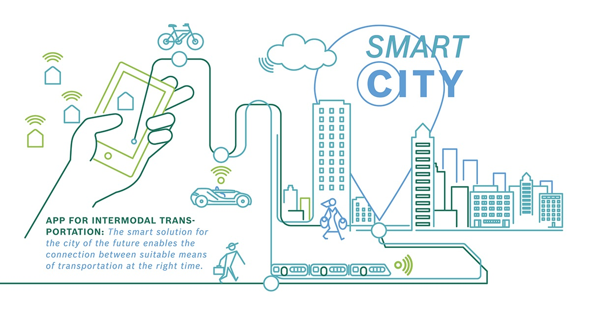 Intermodal Transportation in Smart Cities