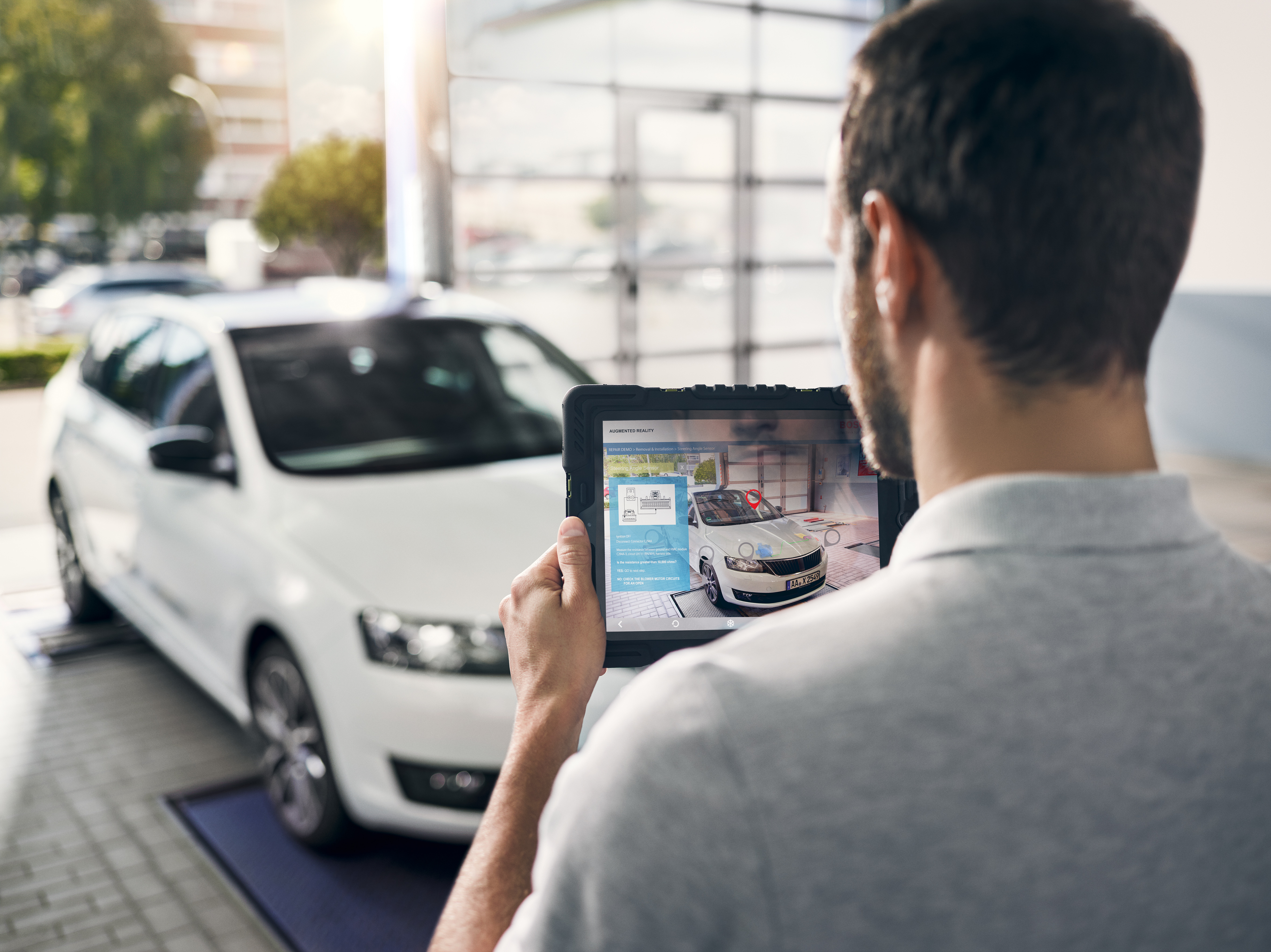 Augmented Reality Applications Allow New Working Methods For Modern