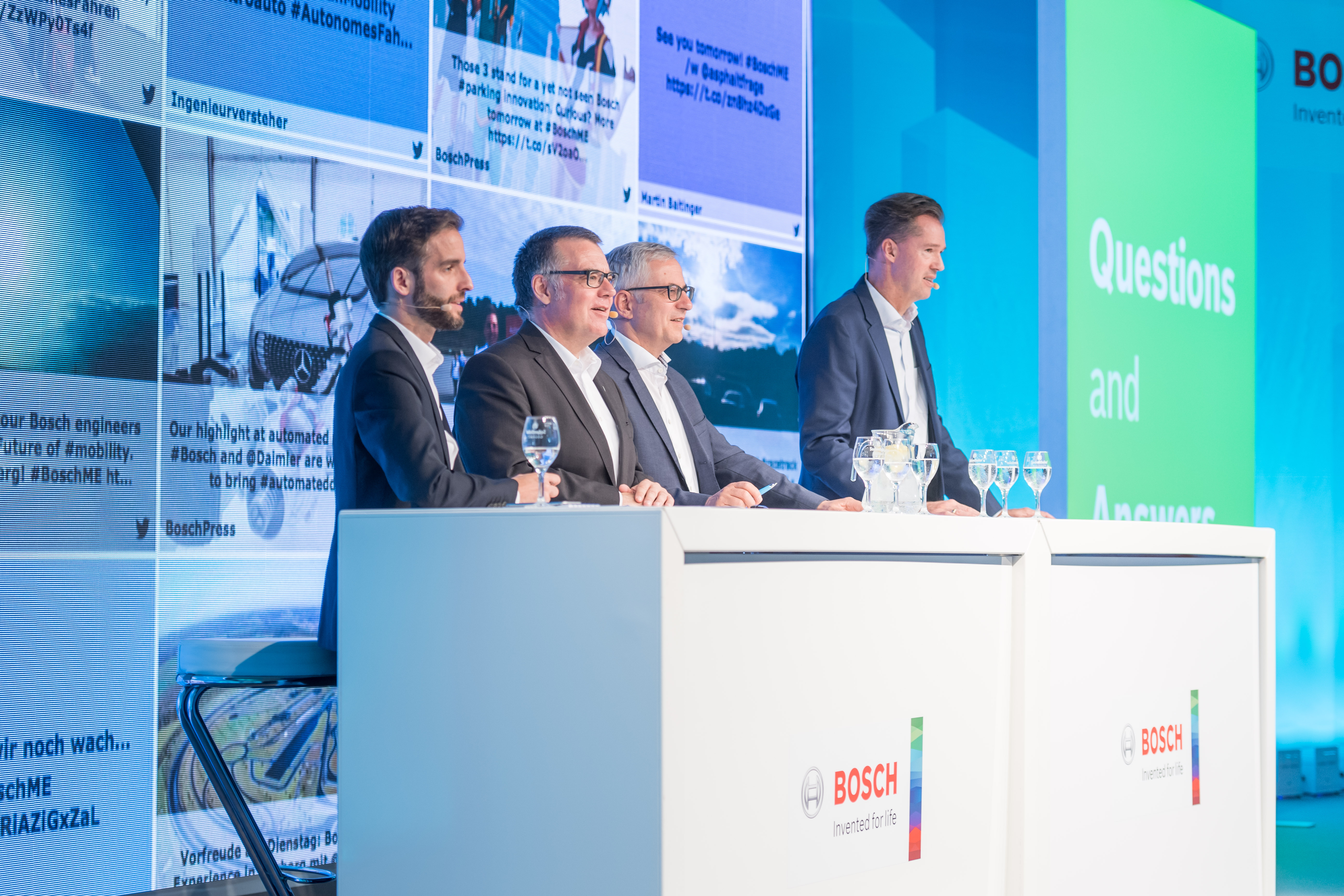 Dr. Rolf Bulander, Dr. Dirk Hoheisel and Dr. Markus Heyn