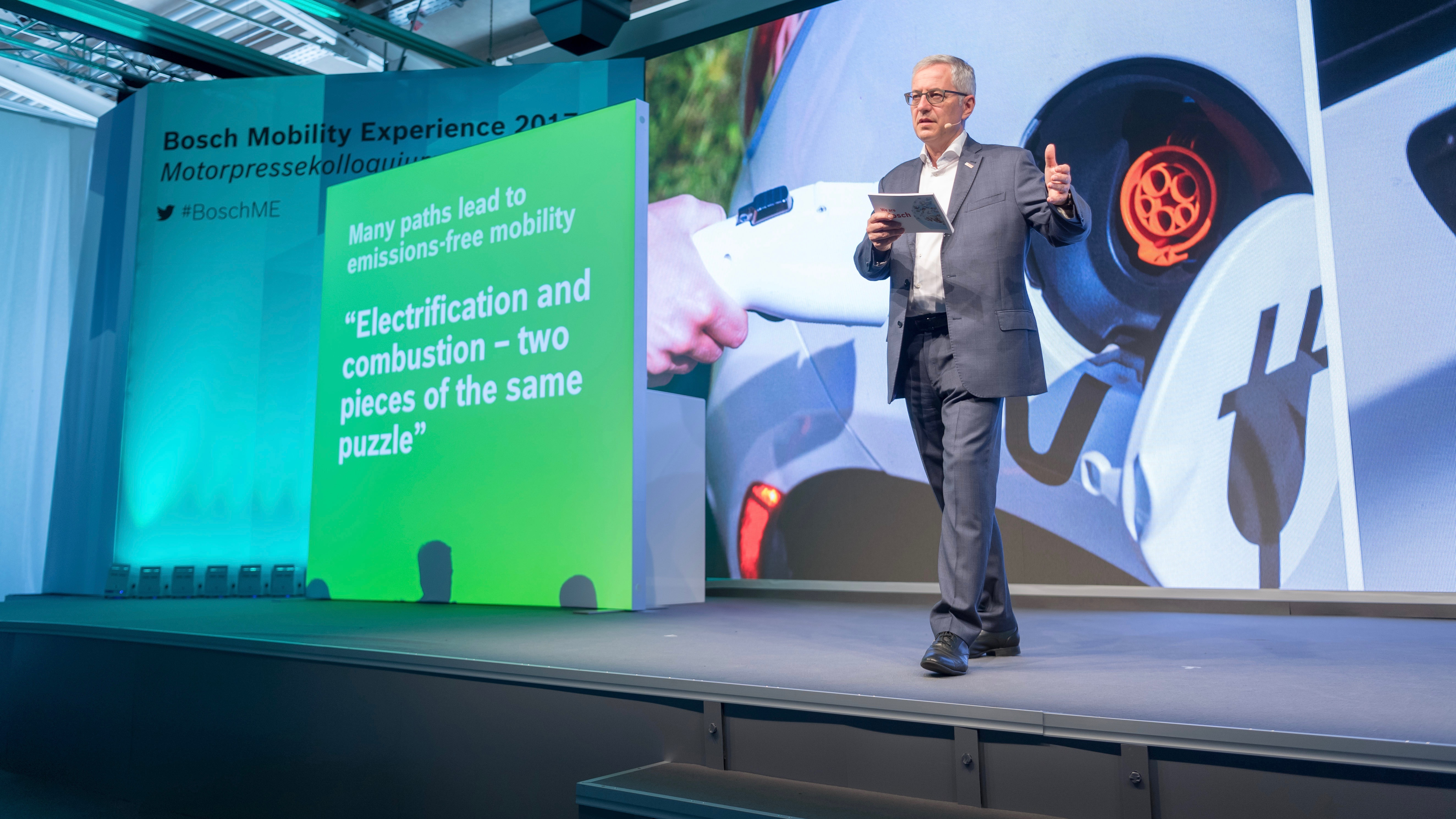Bosch stress-free urban mobility