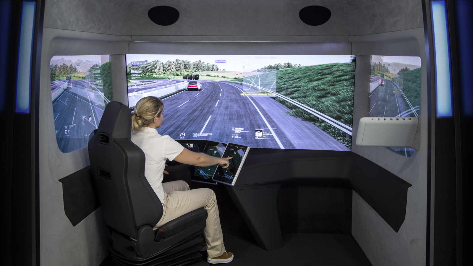 VisionX concept study provides a glimpse into the future of trucks