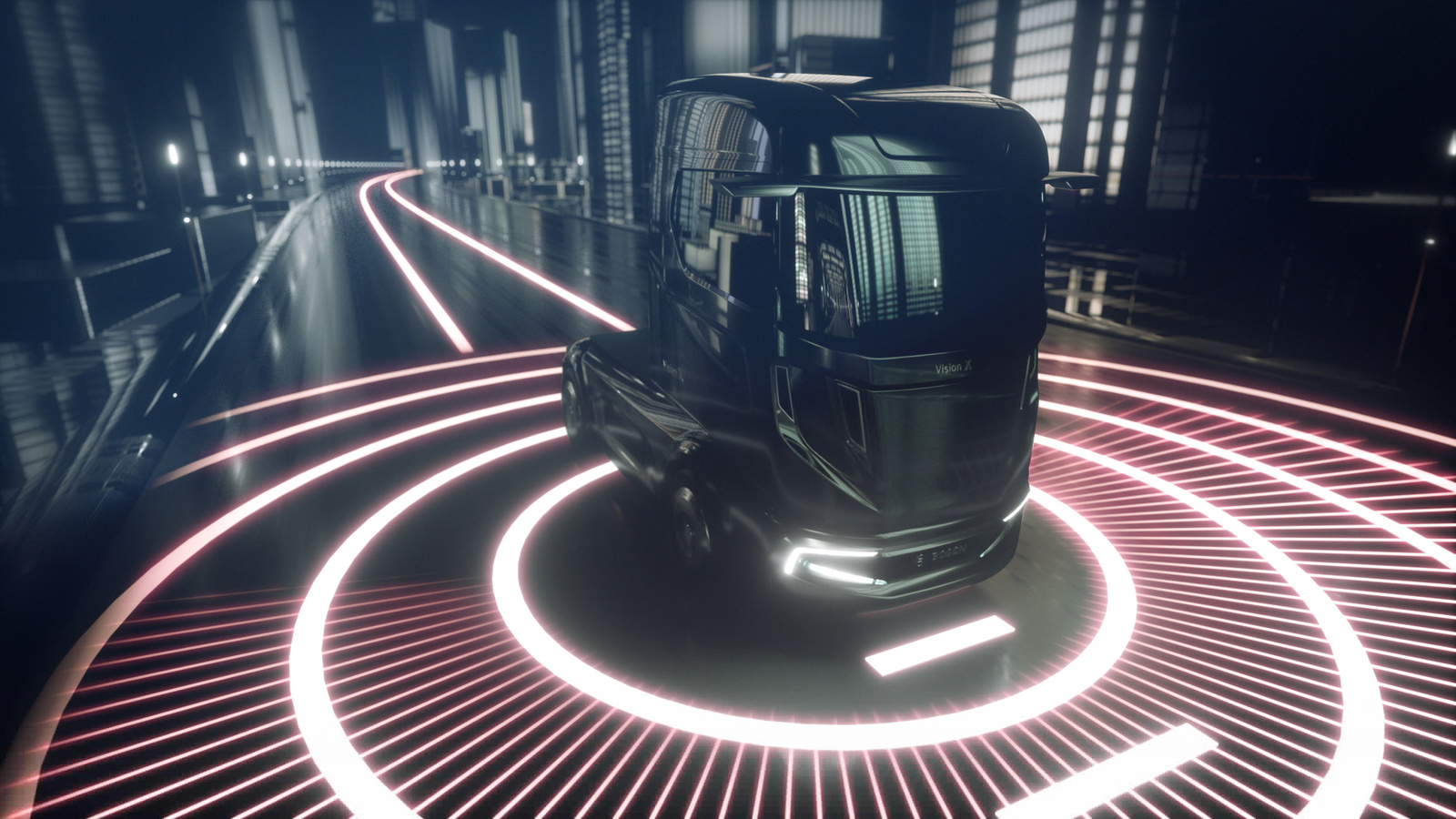 "Bosch's ""VisionX"" study reveals what trucks will look like in 2026"