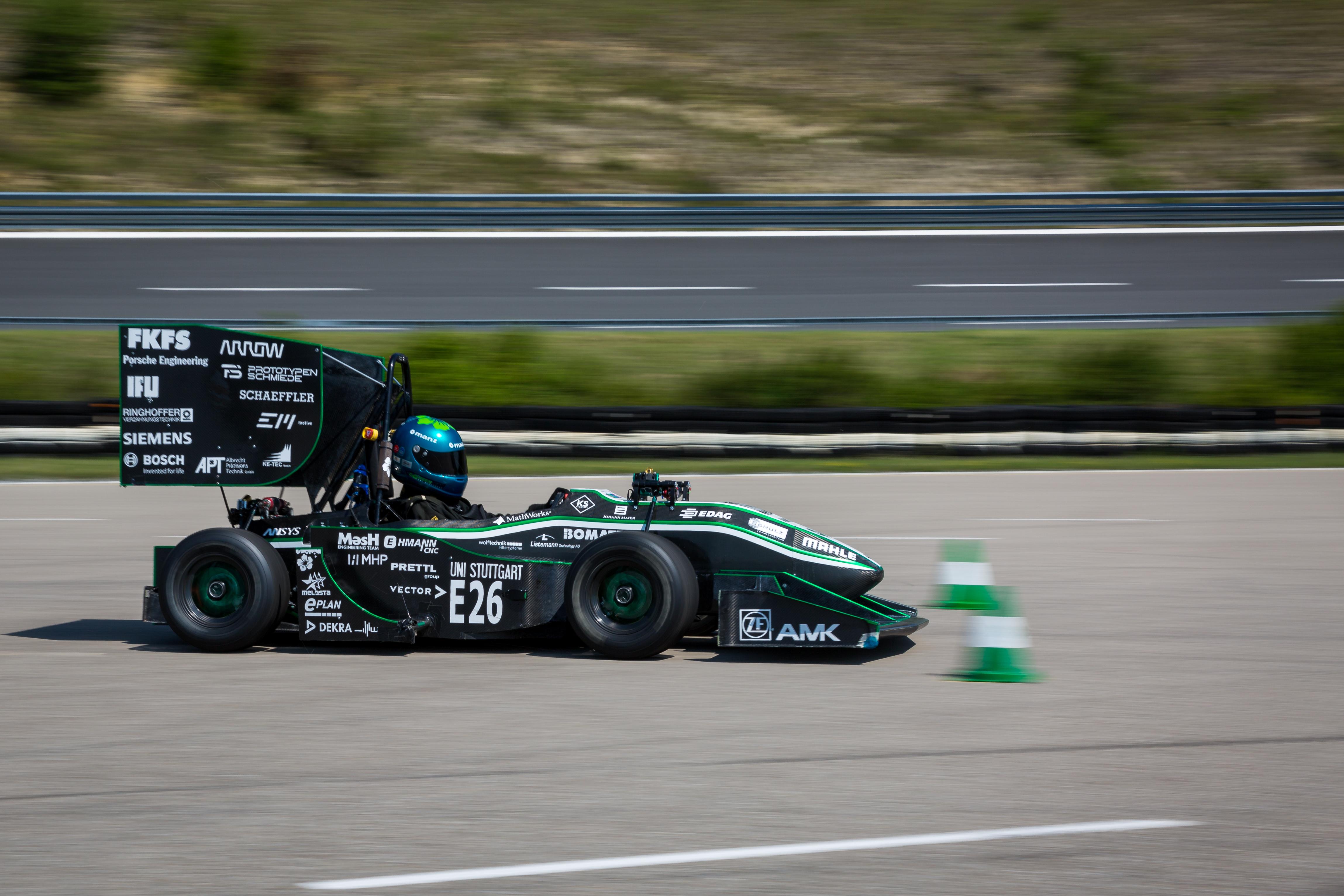 Bosch unterstützt Formula Student Driverless