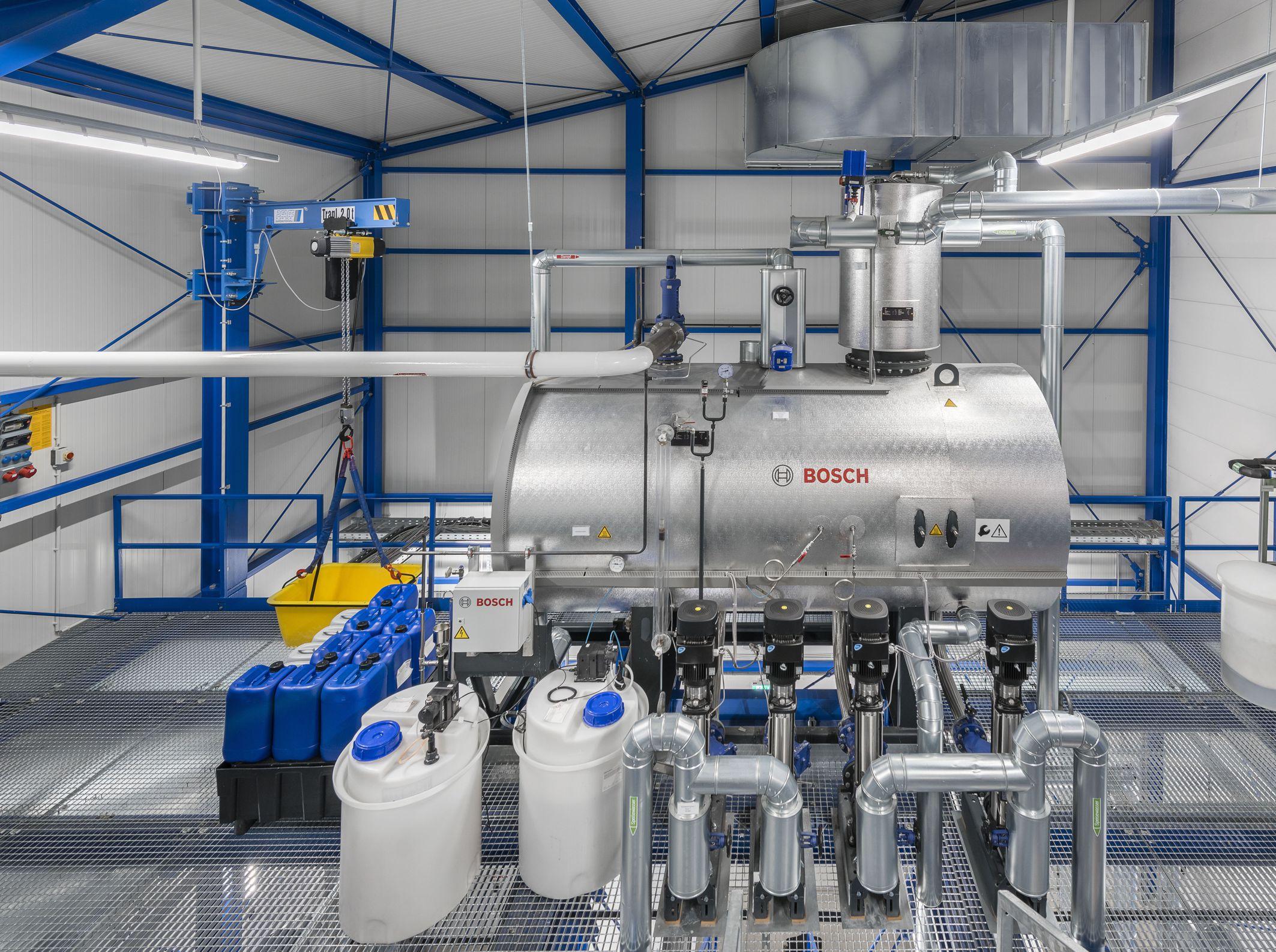 Neue Bosch-Kesselanlage für pflanzliche Arzneimittel von Bionorica ...