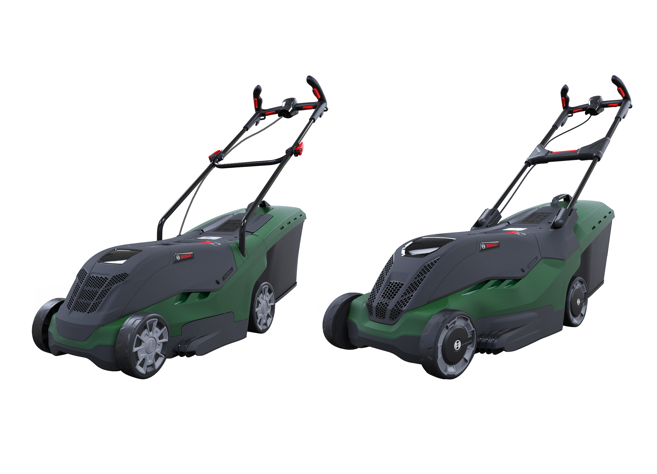The quietest high-performance lawnmower on the market: The new Rotak series from Bosch