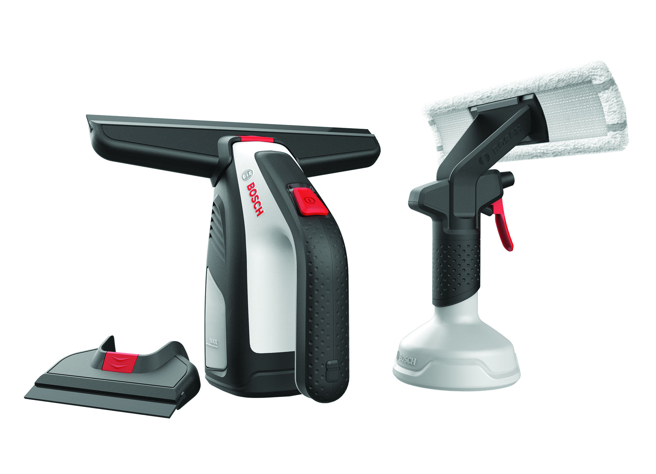 Say goodbye to buckets and newspaper: GlassVac – first cordless window vacuum from Bosch