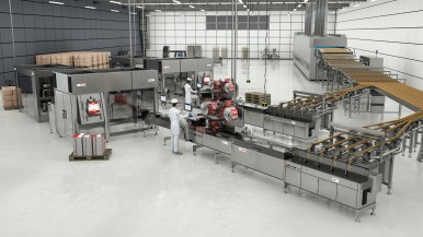 Bosch launches innovative cookie and cracker feeding and packaging system in North America