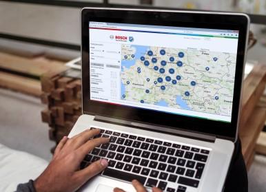 Booking platform Bosch Secure Truck Parking