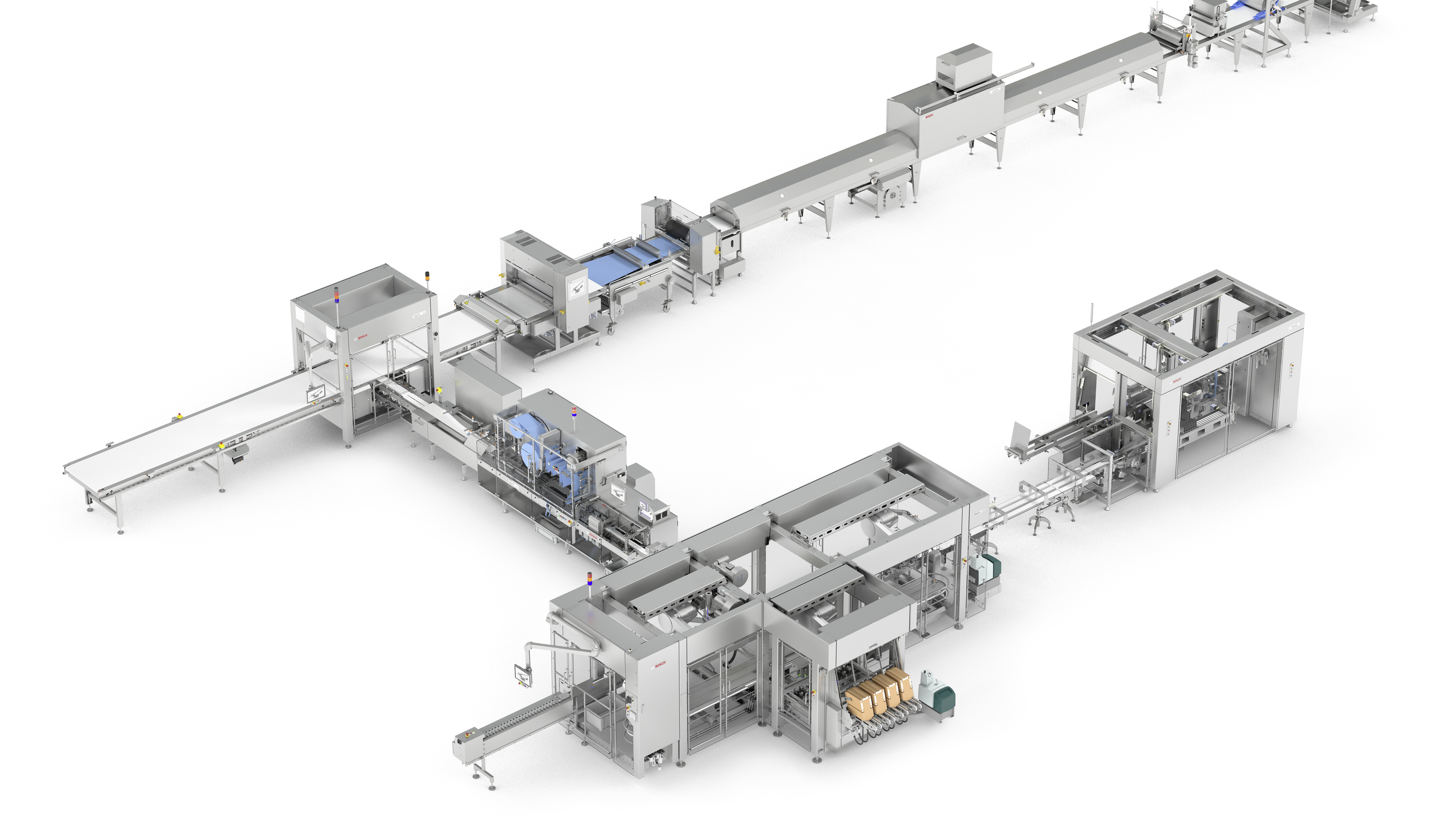 Comprehensive system solution from Bosch for granola bars