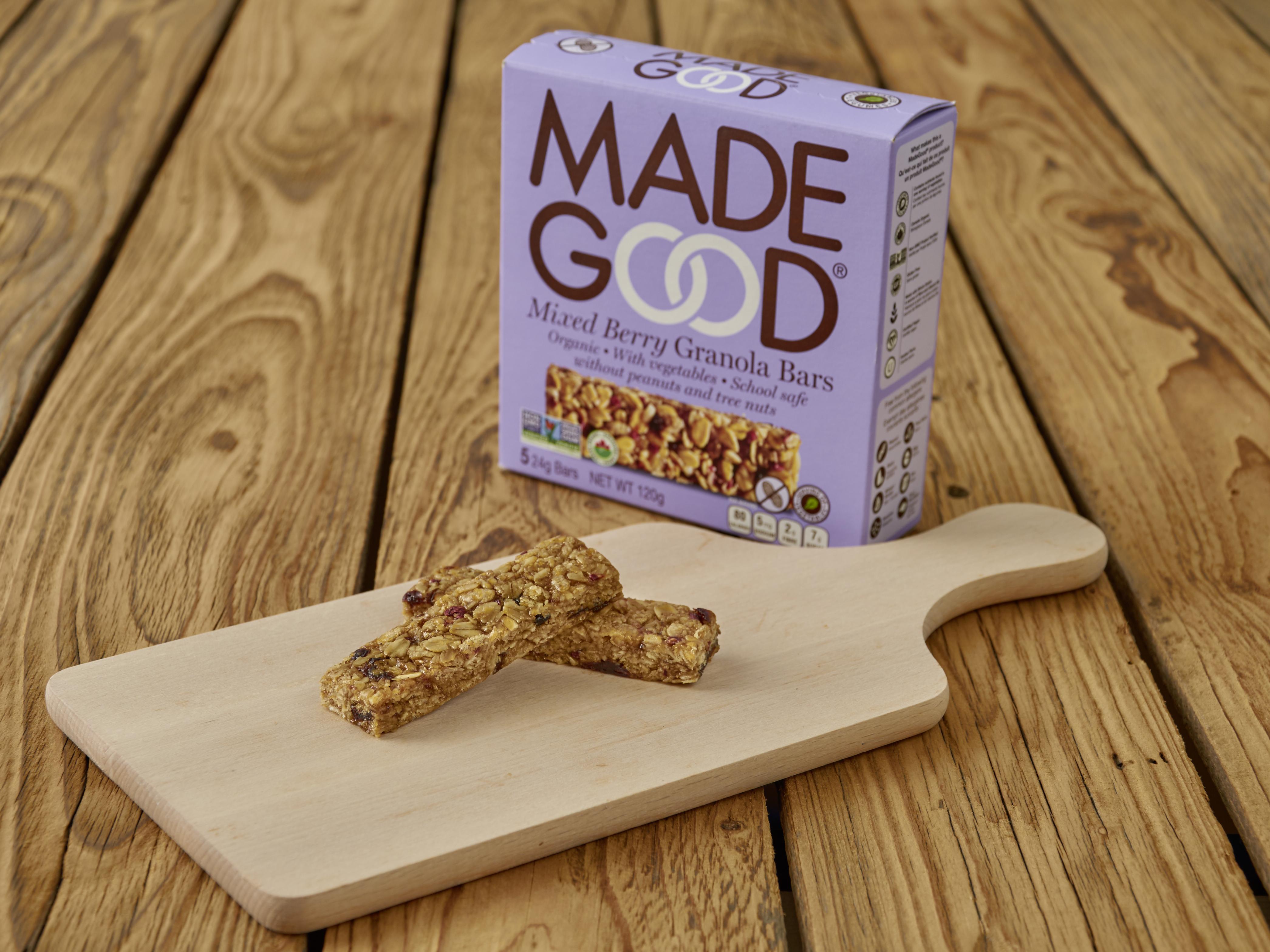 MadeGood® granola bars