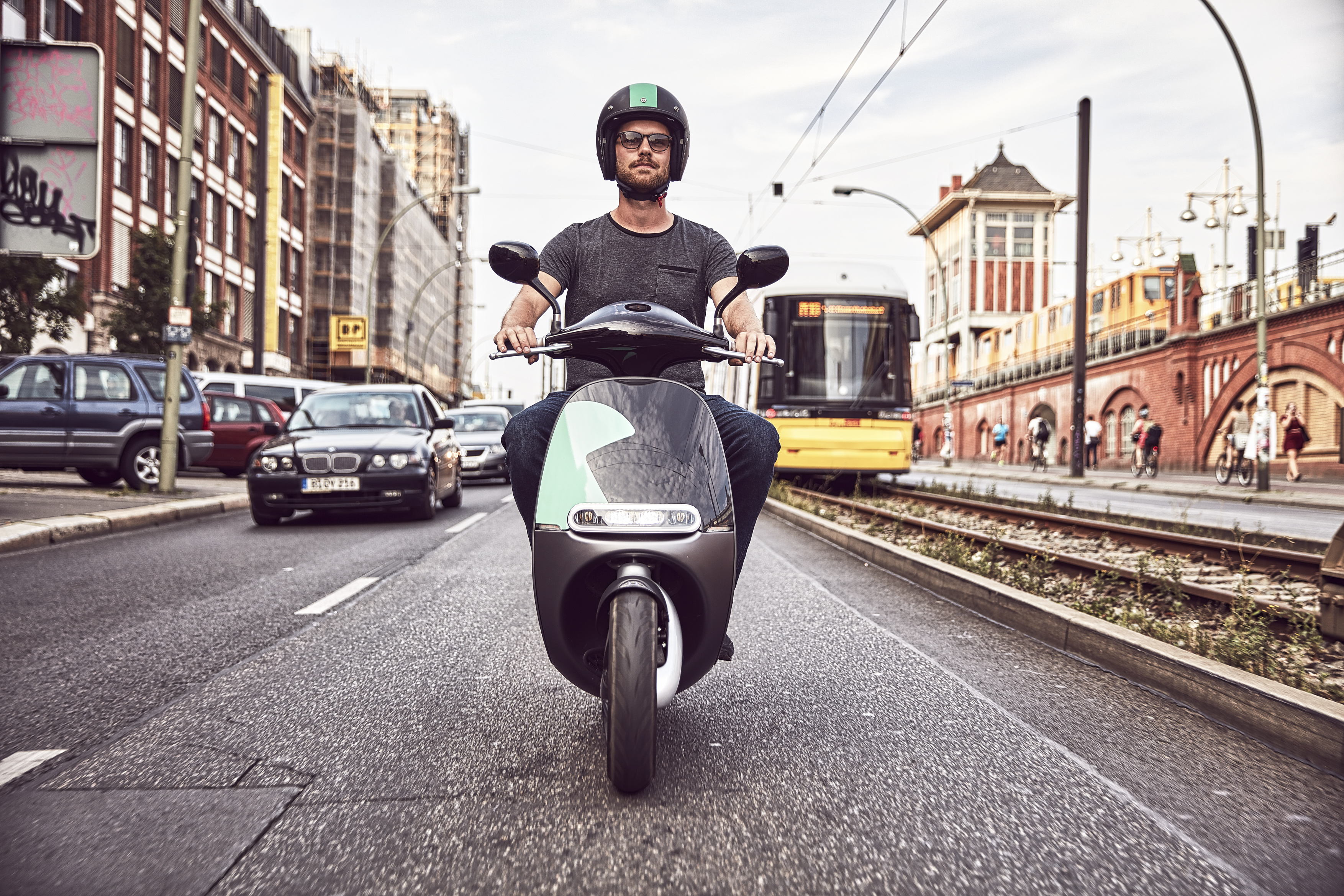 E-Scooter sharing service COUP