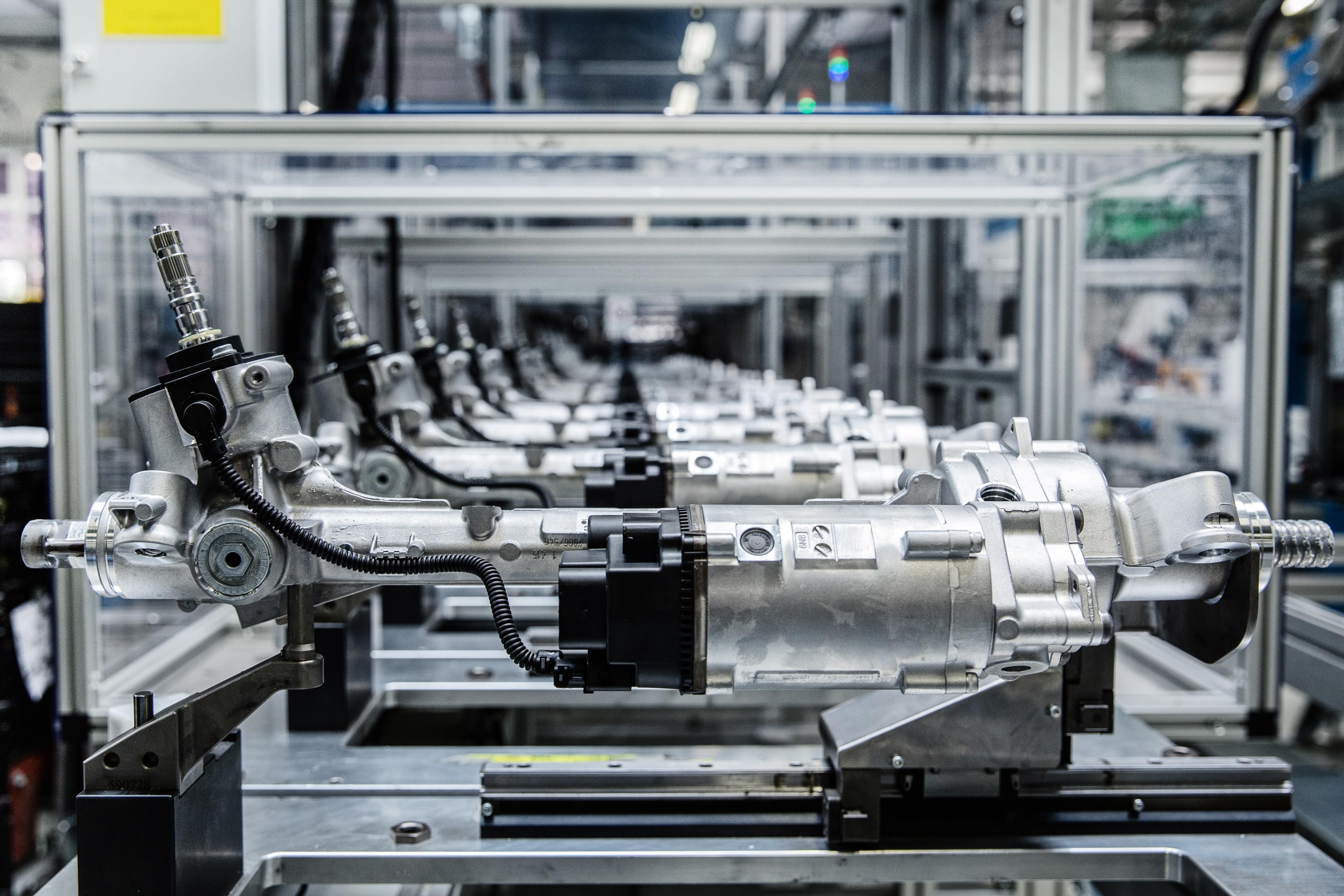 Elektrolenkung: Schlüsseltechnologie für elektrisches und automatisiertes Fahren