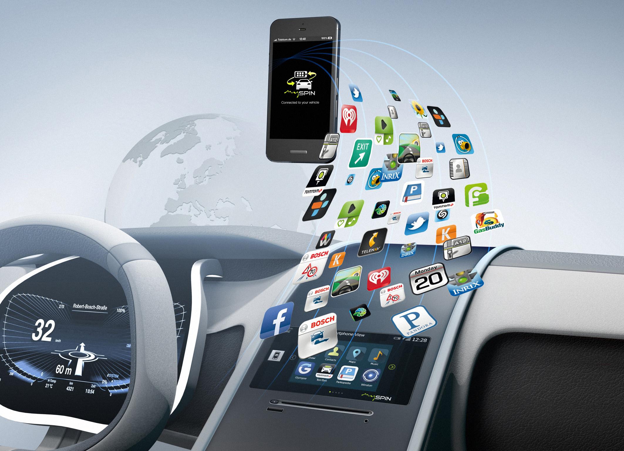 mySPIN – the innovative Bosch smartphone integration solution