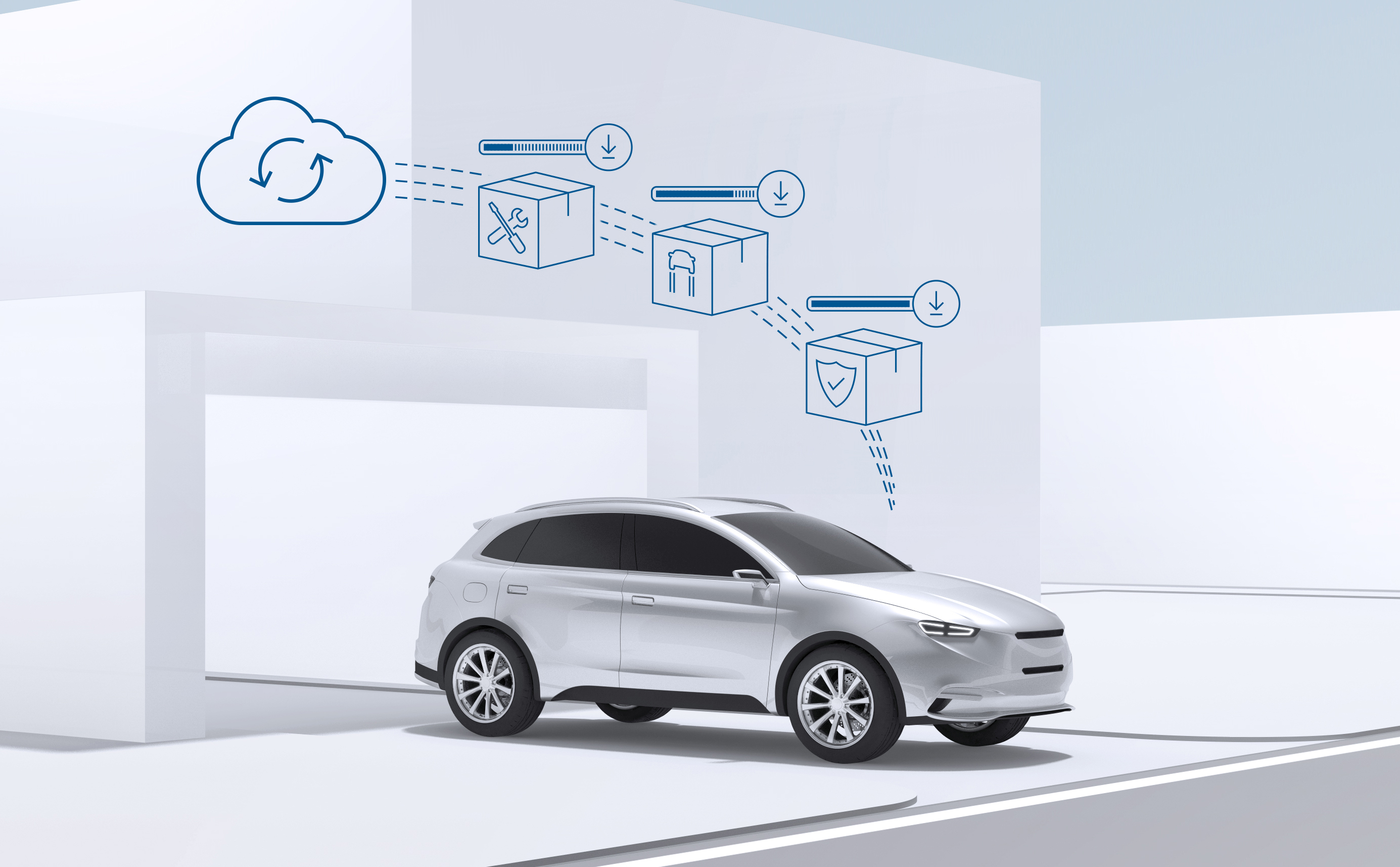 With updates over the air Bosch keeps cars up to date - securely