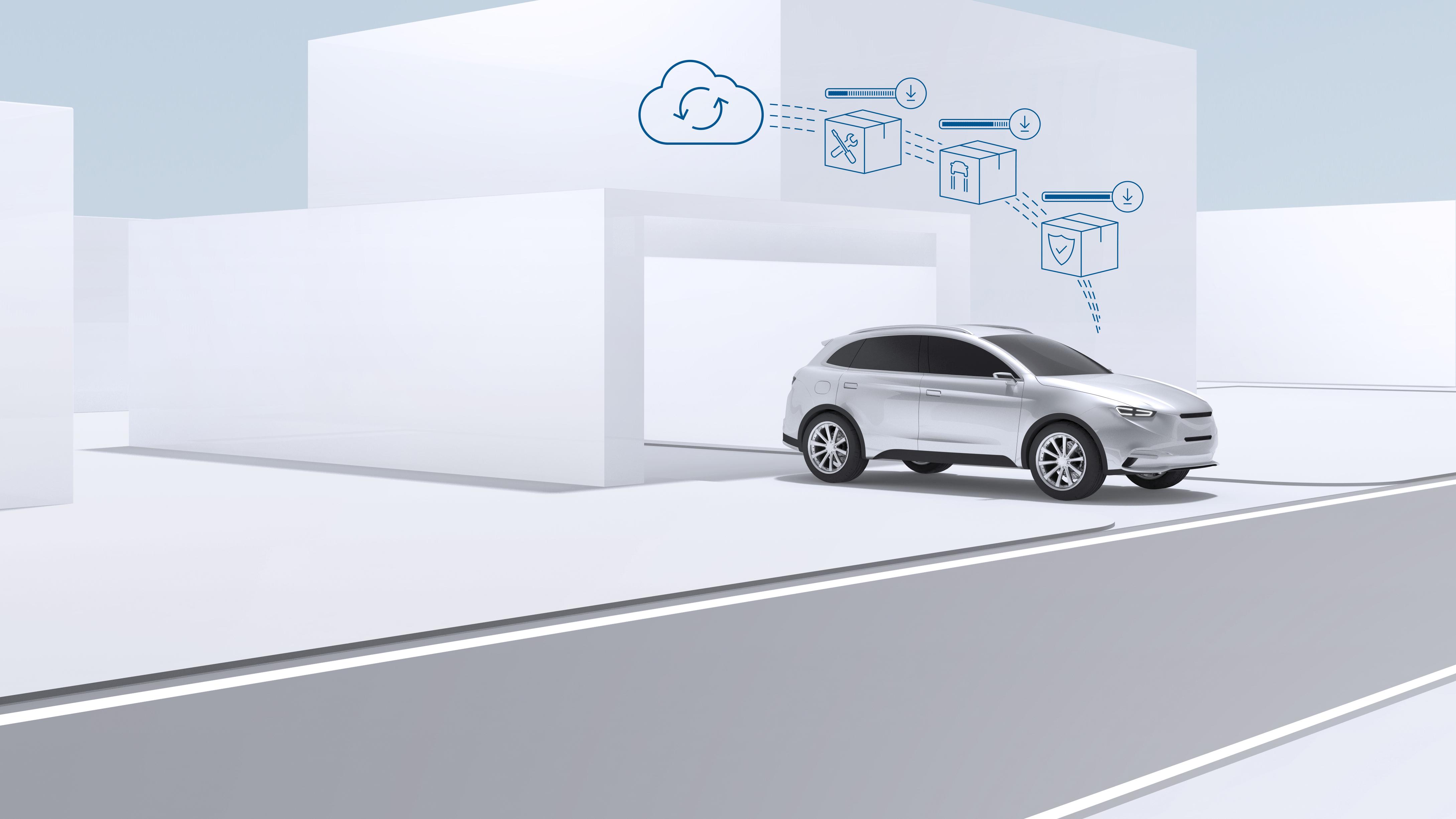 Auto-Updates so einfach wie beim Smartphone - Bosch Media Service
