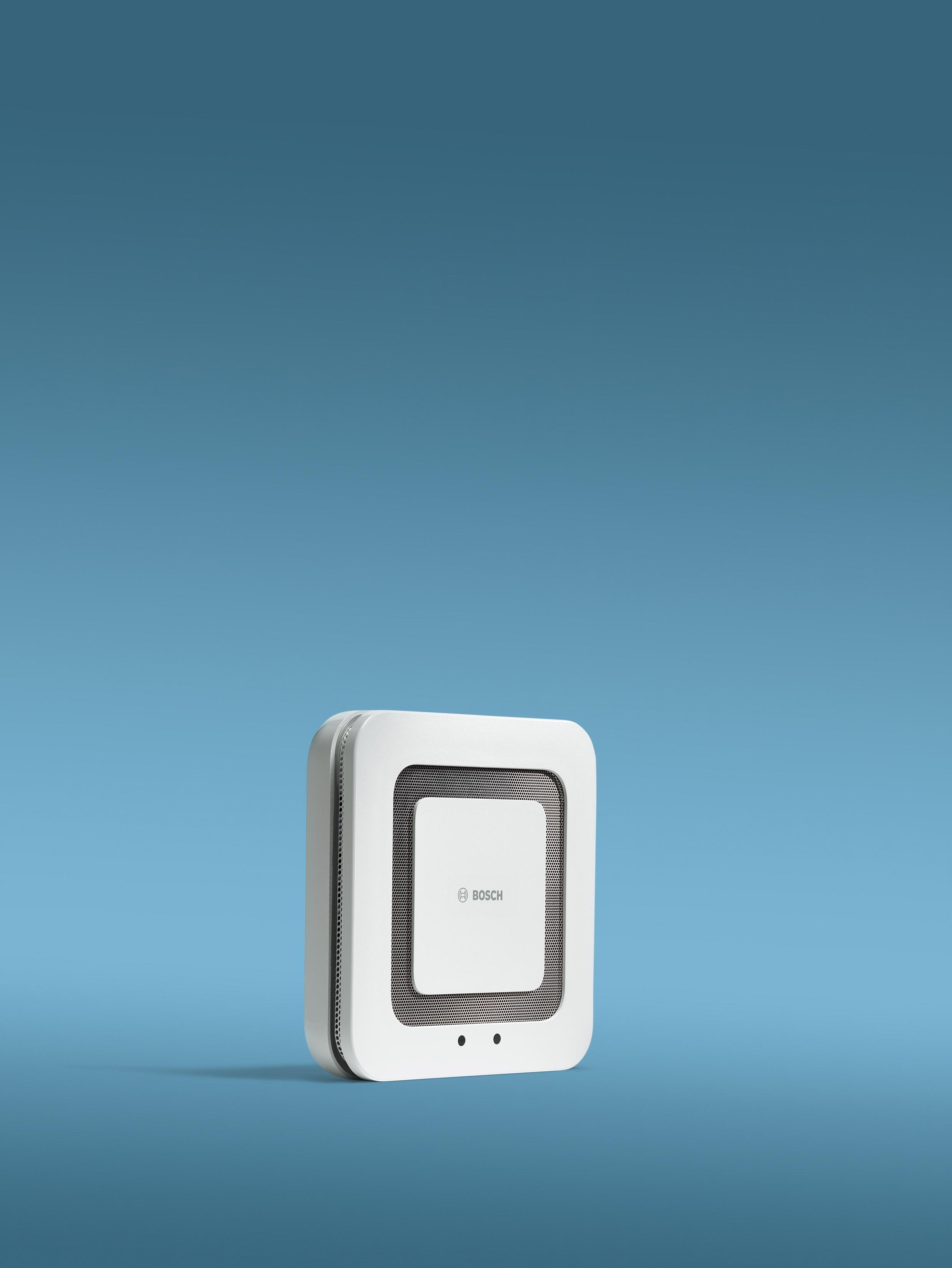 Bosch Smart Home Twinguard Rauchwarnmelder mit Luftgütesensor