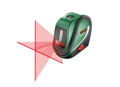 For small to large renovation tasks: UniversalLevel 2 cross line laser with plumb points