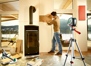 Precise and easy interior levelling: UniversalLevel 2 and UniversalLevel 3 from Bosch