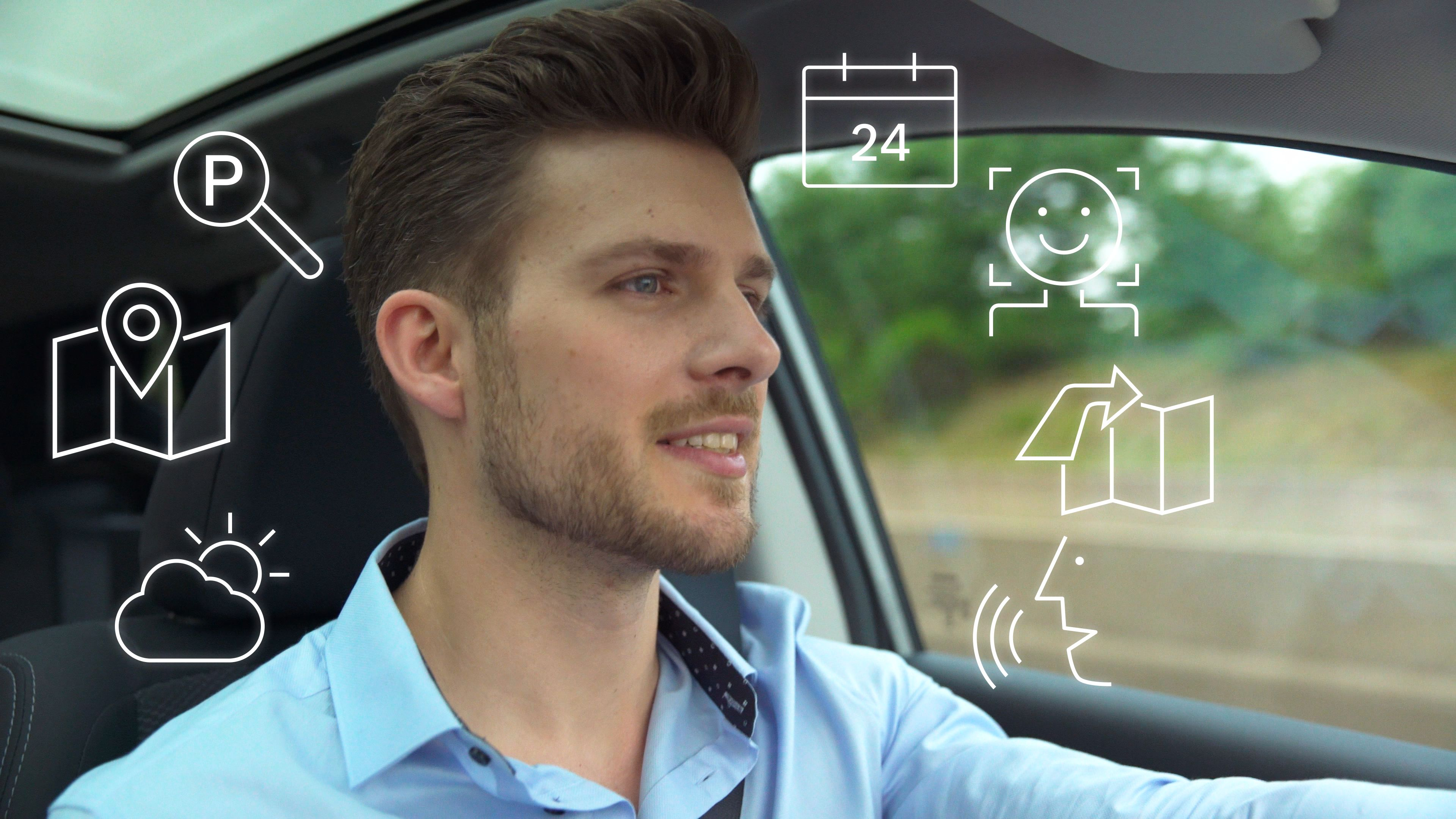 Bosch puts the voice assistant behind the wheel