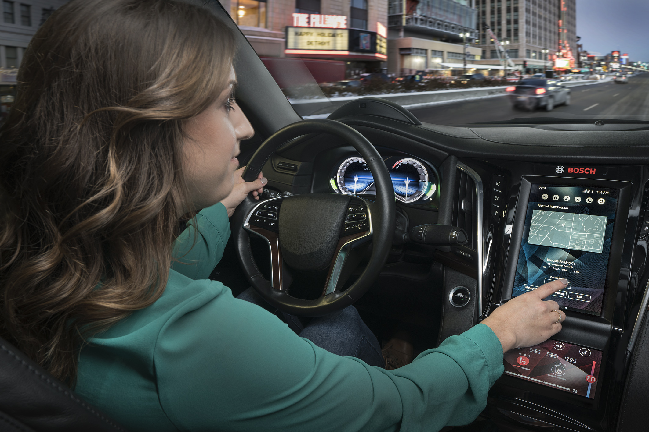 Digital displays and voice-controlled assistants are revolutionizing driving