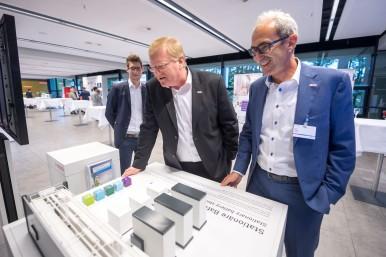 Dr. Stefan Hartung beim Pressegespräch Bosch Energy and Building Technology 2017