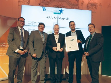Preisverleihung des Green Star Packaging Award 2017 und ARA Sonderpreis