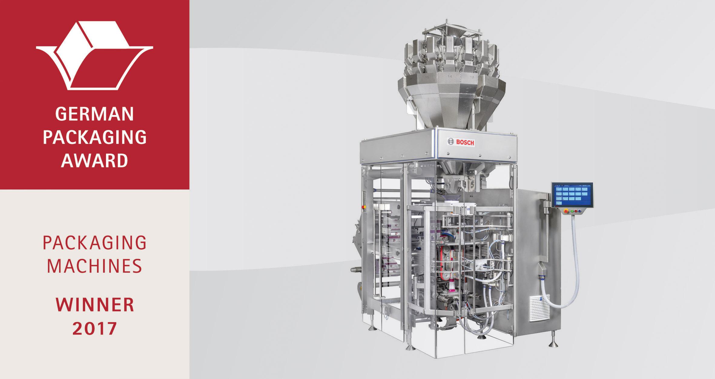 Deutscher Verpackungspreis 2017 für sensor-gesteuerte Produkterkennung
