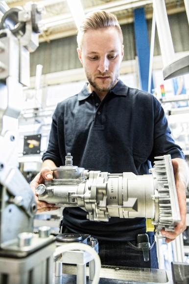 Elektro-hydraulische Lenkung Servotwin