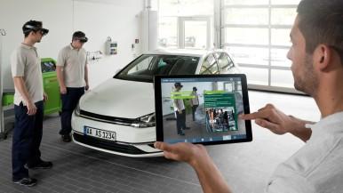 Augmented Reality-Applikationen beschleunigen Kfz-Reparaturen und unterstützen technische Trainings