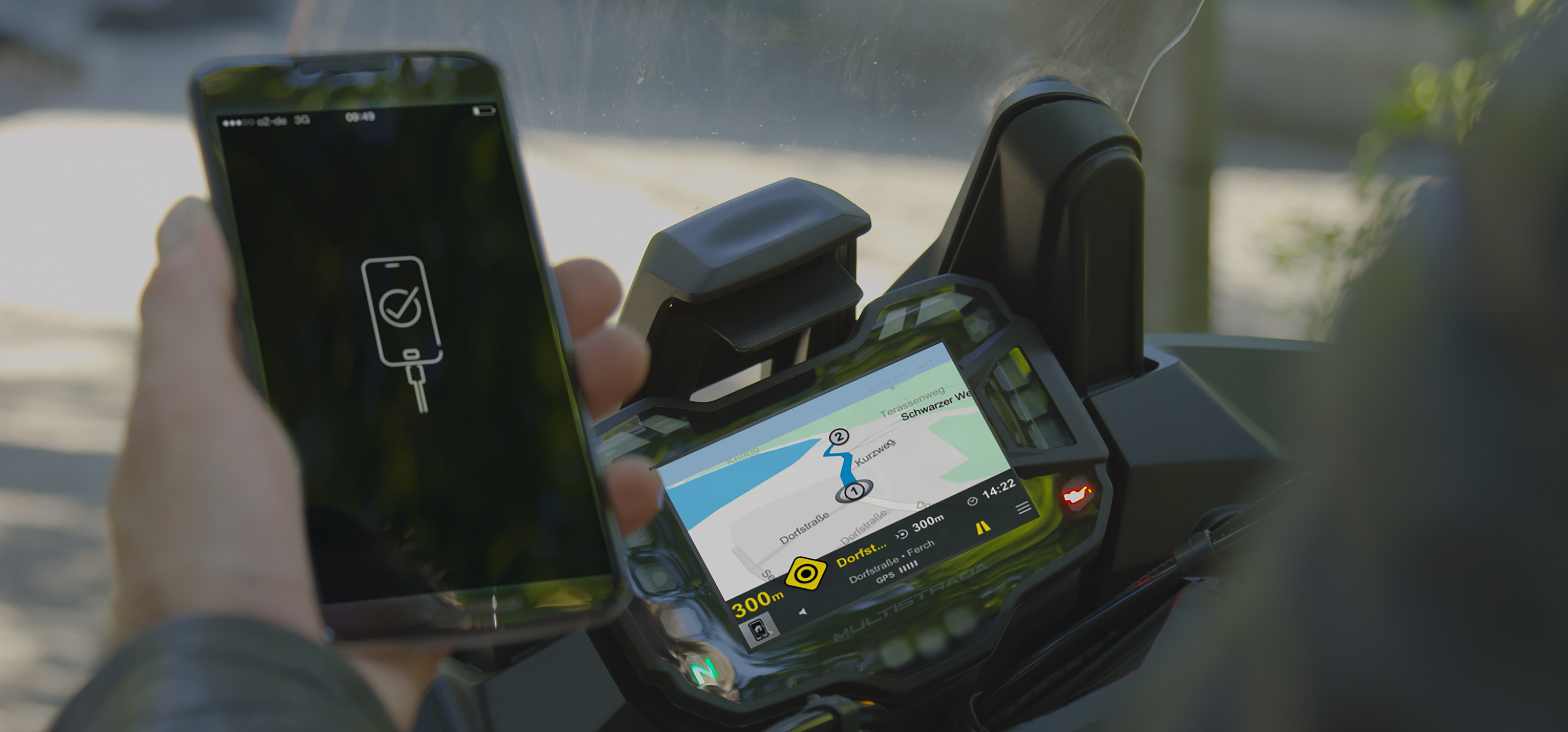 Smartphone integration mySPIN
