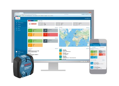Simpler operation, better overview: TrackMyTools from Bosch with new functions