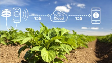 High tech for farms: with agricultural technology, Bosch opens up market worth billions
