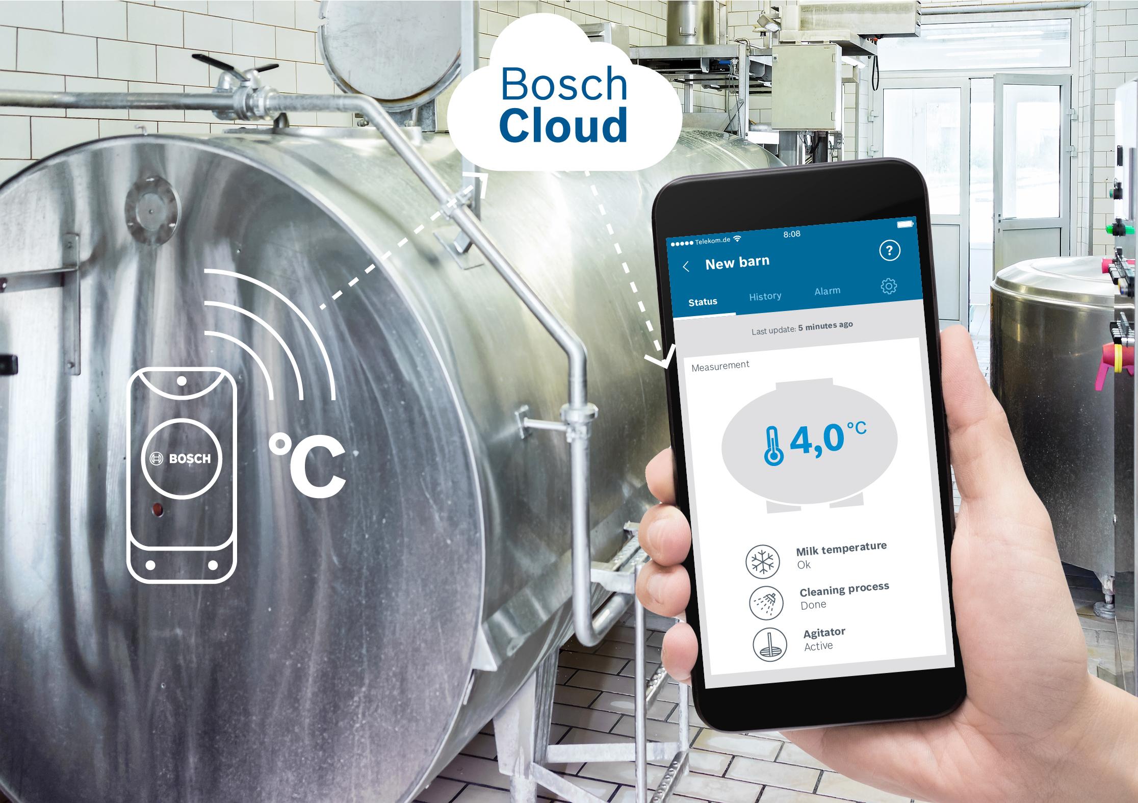 Milk monitoring app