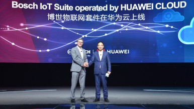 Bosch bringt IoT-Softwarelösungen mit Huawei Cloud nach China