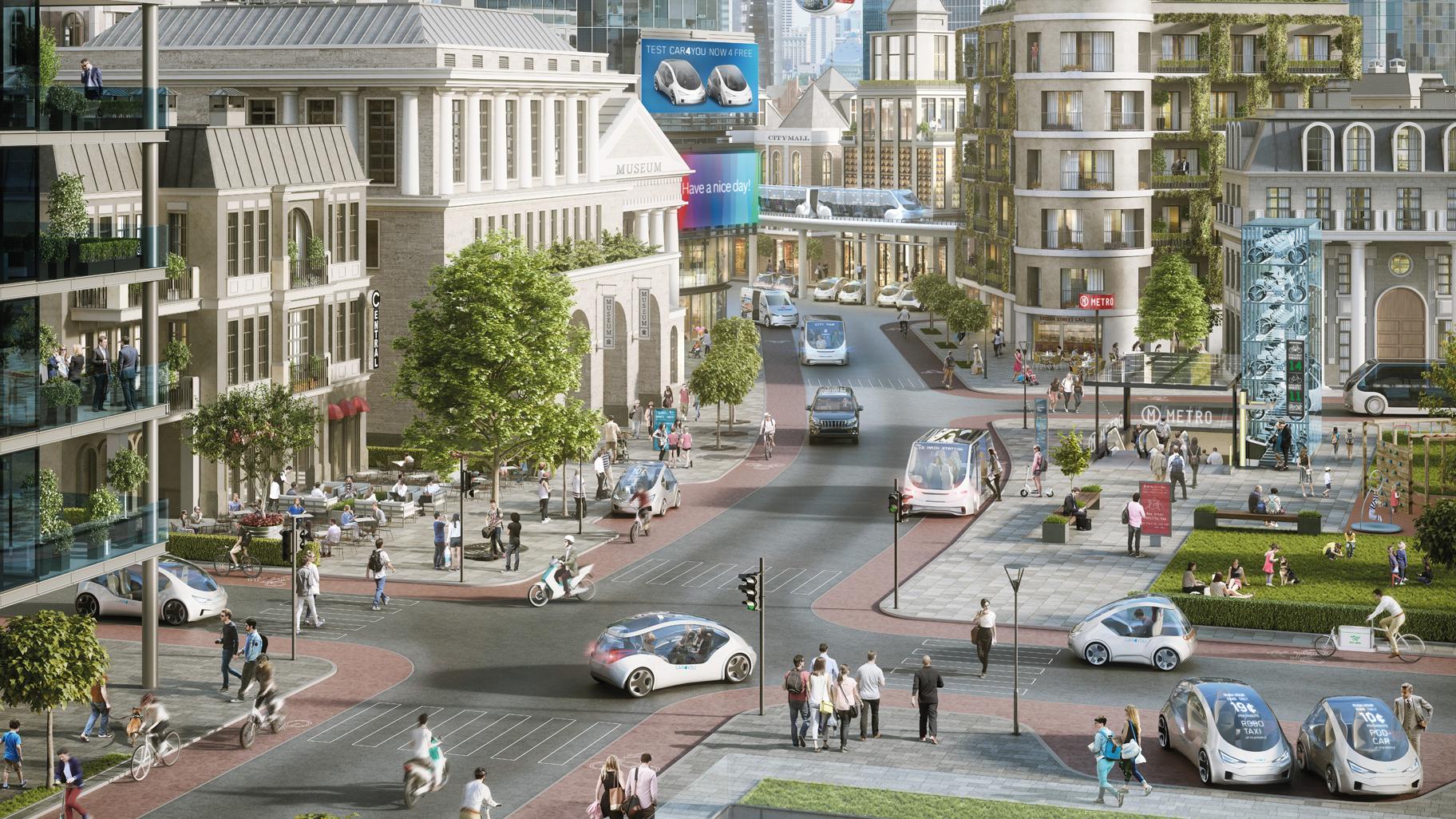 Luftqualität in Städten