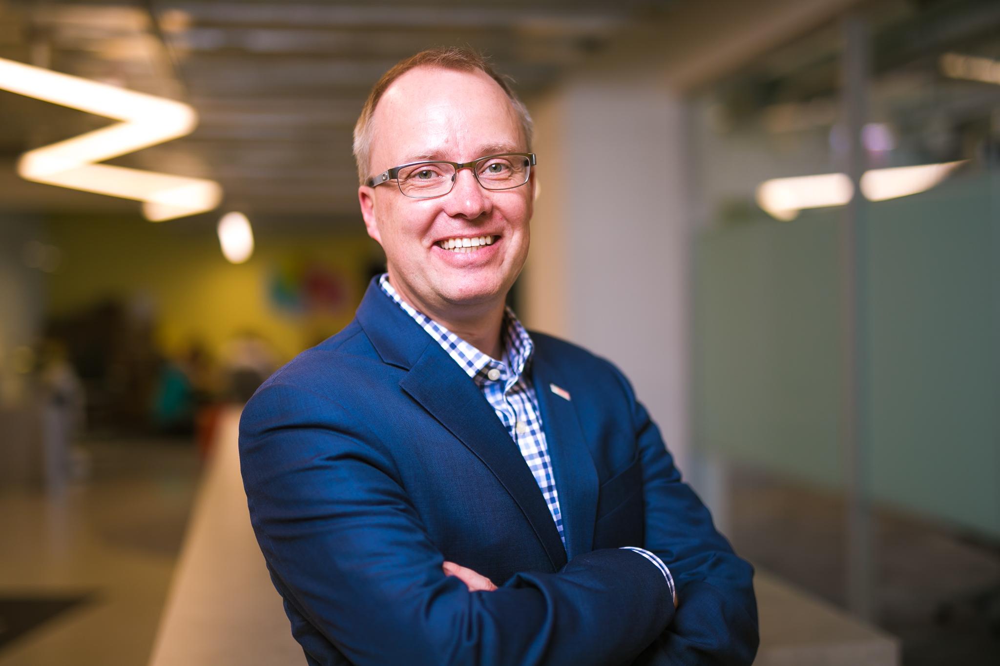 Dennis Böcker, head of global IT innovation at Bosch