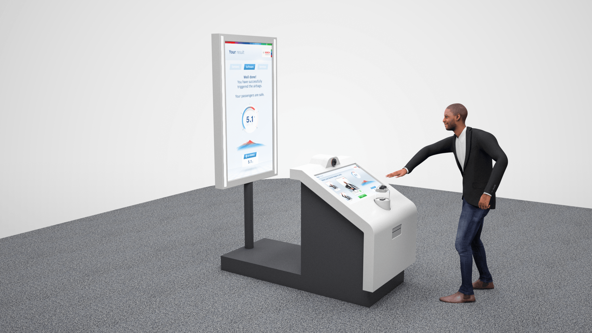 Erlebnisstation: Bosch zeigt spielerisch wie IoT funktioniert