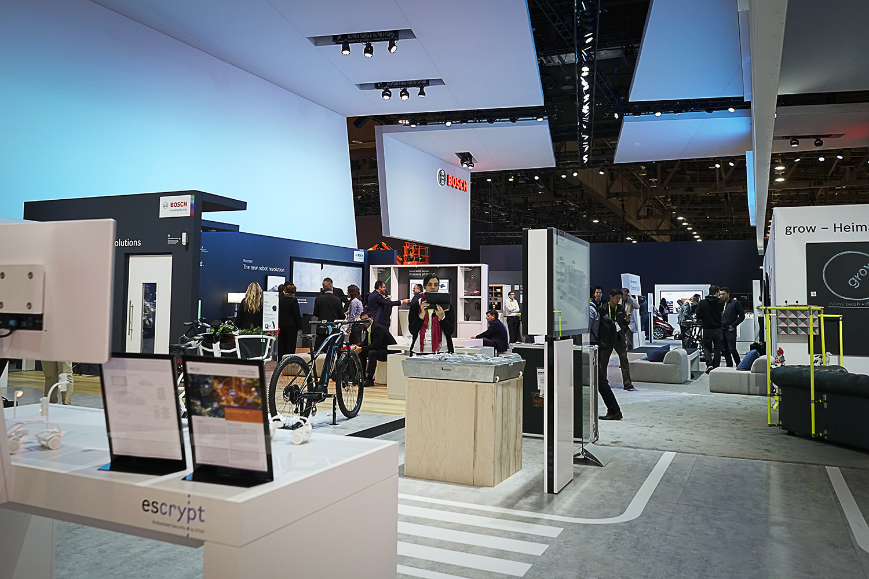 Bosch auf der CES 2018